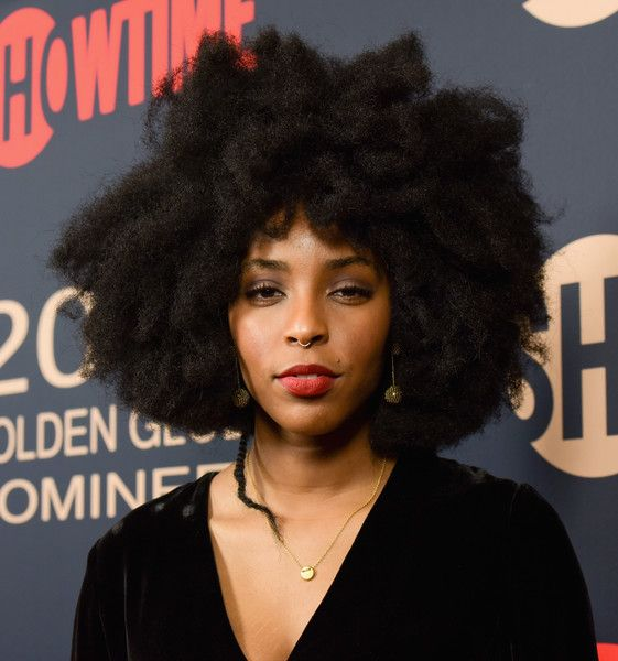 Actress/writer Jessica Williams attends the Showtime Golden Globe Nominees Celebration at Sunset Tower on January 6, 2018 in Los Angeles, California.