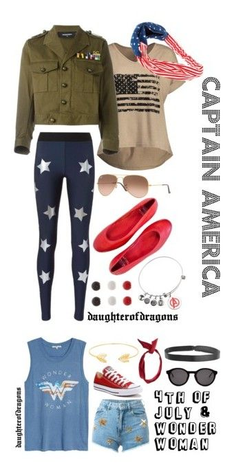 """""""Everyday Superhero"""" by daughterofdragons on Polyvore featuring Ultracor, Dsquared2, Ray-Ban, Paolo Shoes, Marvel, Kim Rogers, marvel, Junk Food Clothing, Chiara Ferragni and Converse"""
