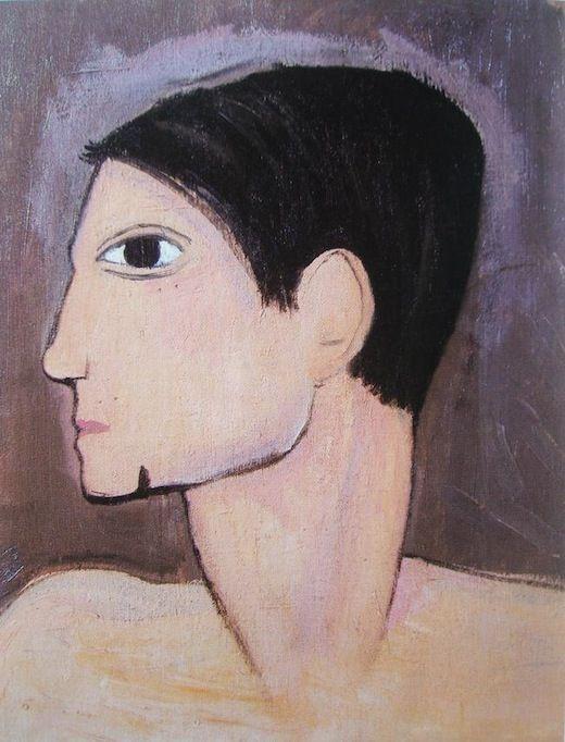Marie Laurencin, portrait de picasso.