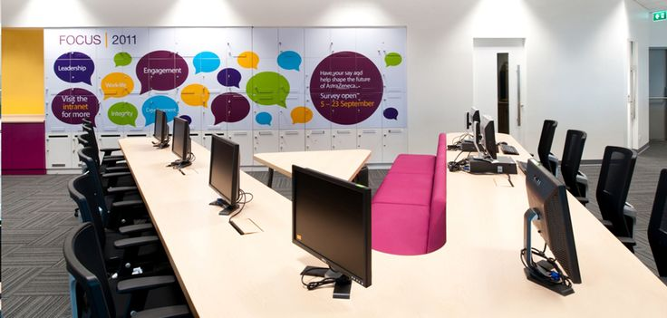Creative Office Branding using wall graphics from Vinyl ...