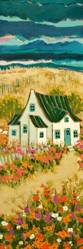 Weekend on the Island, by Claudette Castonguay