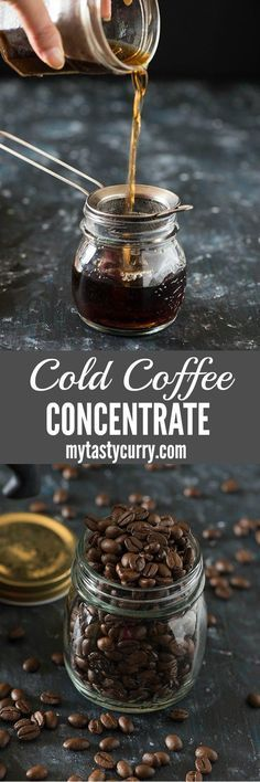 Cold brew coffee concentrate is perfect for you If you love cold coffee in the summer, but hate that excessive bitter coffee or watery cold coffee or scared of acid reflux after having one or two coffees in a day. Cold brewing the coffee gives you a perfe