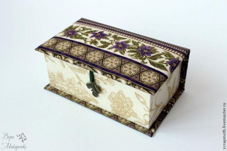 Создаем чудесную шкатулку для украшений - Ярмарка Мастеров - ручная работа, handmade