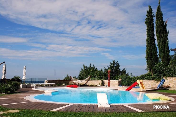 Le piscine di Villa Luna Salò