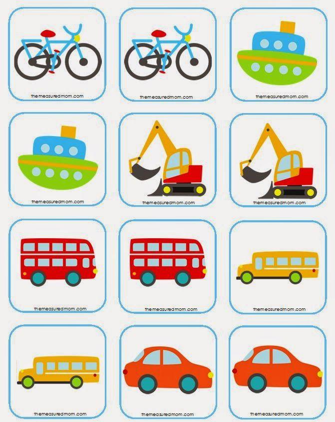 Atividades Para Colorir Infantil 10 Jogos Da Memoria Educativos Para Imprimir Reco Jogos Educativos Para Criancas Transporte Escolar Atividades De Transporte