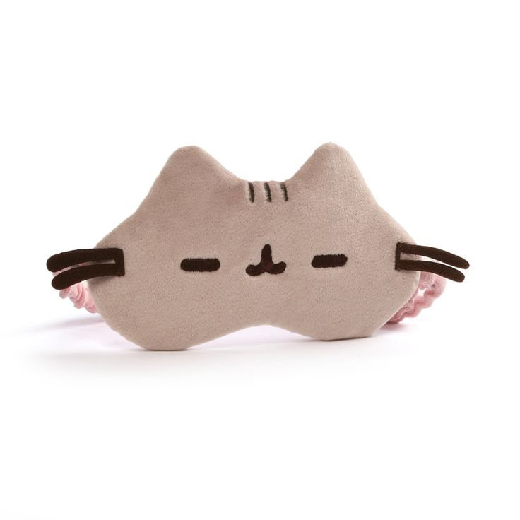 GUND wants to take your cat naps to the next level — catch some z's in style with his adorable Pusheen sleeping mask. Features an adjustable elastic band for increased comfort, while accurate embroide