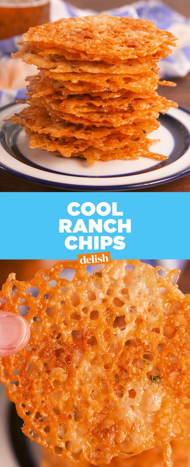 PSA: Low-carb Doritos exist!! Get the recipe at Delish.com. #recipe #easyrecipe #chips #cheese #ranch #cheddar #doritos #snack #snacking #lowcarb #lowcarbdiet #lowcarbrecipes #garlic