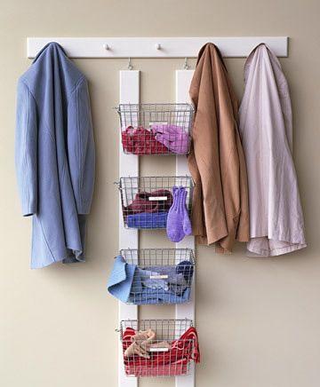 Топ 10: Идеи хранения вещей в прихожей