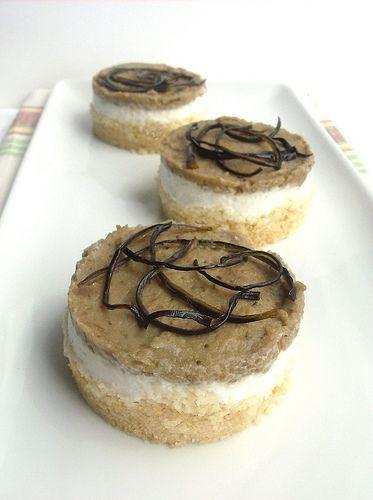 Cheesecake di ricotta e melanzane