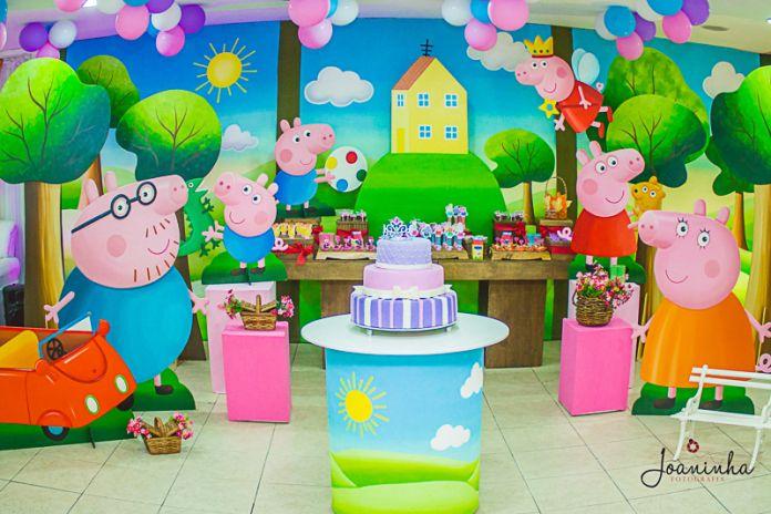 Fiesta De Cumpleaños De Peppa Pig Paso A Paso Fiesta De Cumpleaños De Peppa Pig Fiesta De George Pig Peppa Pig Cumpleaños Decoracion