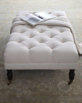 This At The End Of My Bed Tufted Ottoman Home Design