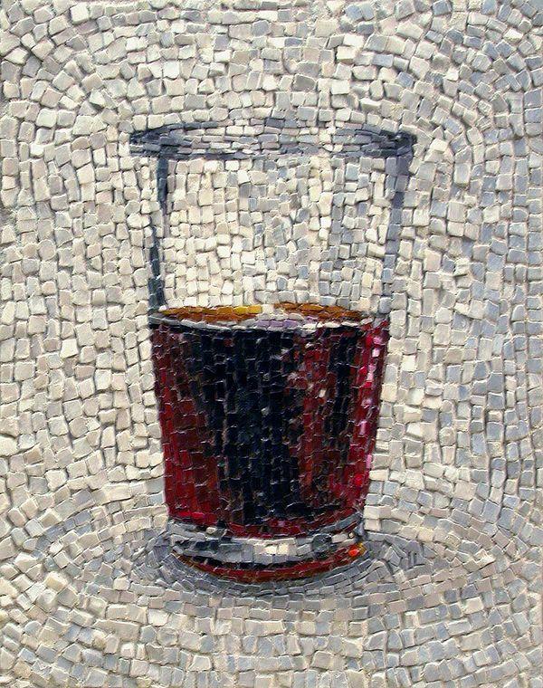 Contemporary mosaïc by Jim Bachor - http://www.laregalerie.fr/les-superbes-mosaiques-de-jim-bachor/