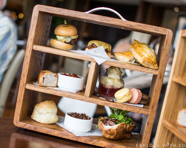 St David's Hotel Gentlemen's Afternoon Tea - A twist on the traditional Afternoon Tea with a more savoury and meaty offering - complimented with a Welsh ale.