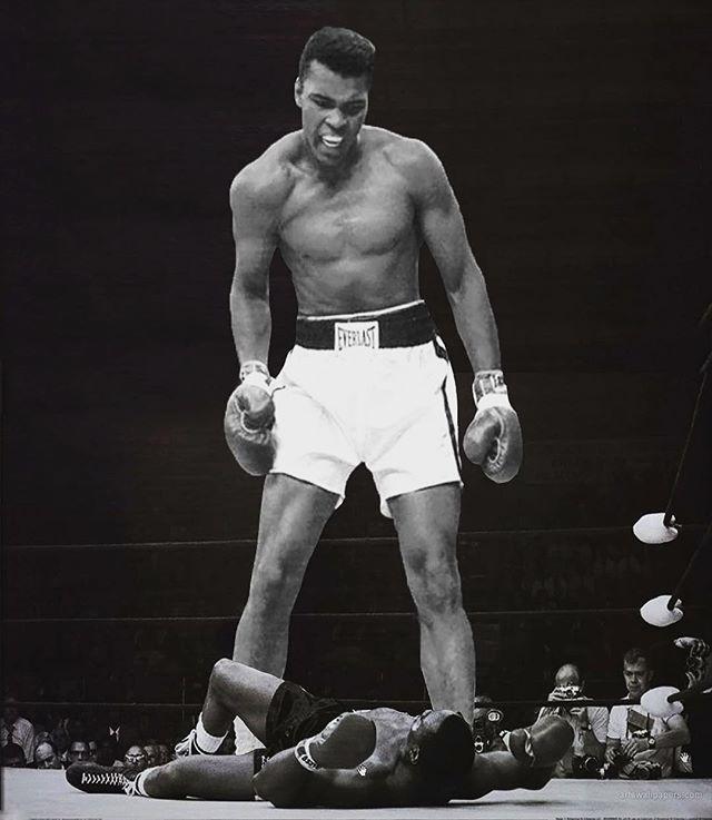 """Muhammad Ali (1942-2016) """"The Grewtest"""" #miami #photoshopmiami #photoretouch #photoshopartist #art #photographer #miamiphotographer #boxing #muhammadali #thegreatest #muhammad #rip"""