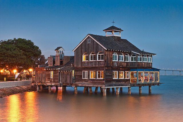 San Diego California Pier Cafe