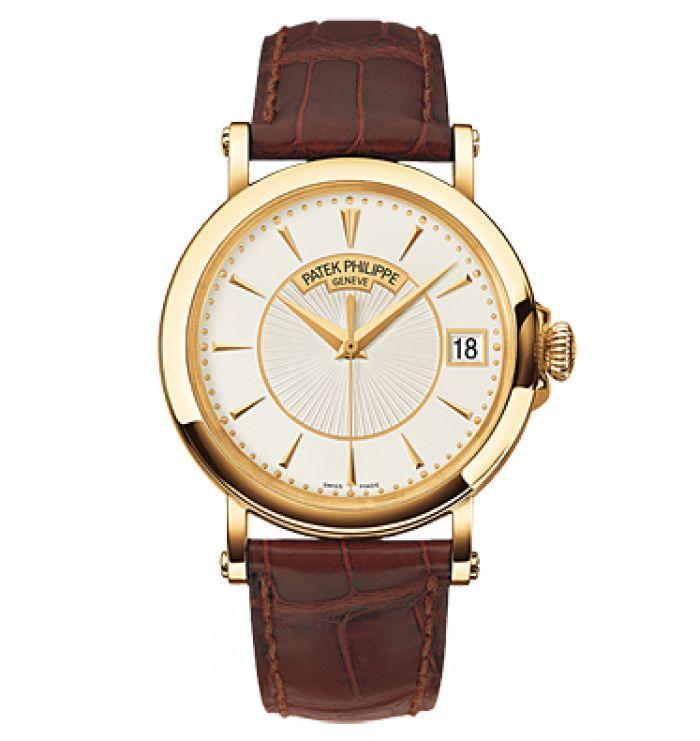 """Оригинальные часы Patek Philippe """"Calatrava 5153 Officier"""" модель № 593.512.1"""