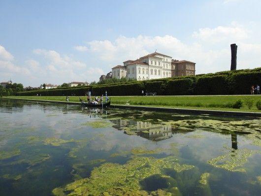 La Reggia di Venaria Reale, vista dal Parco - 2 giugno 2015