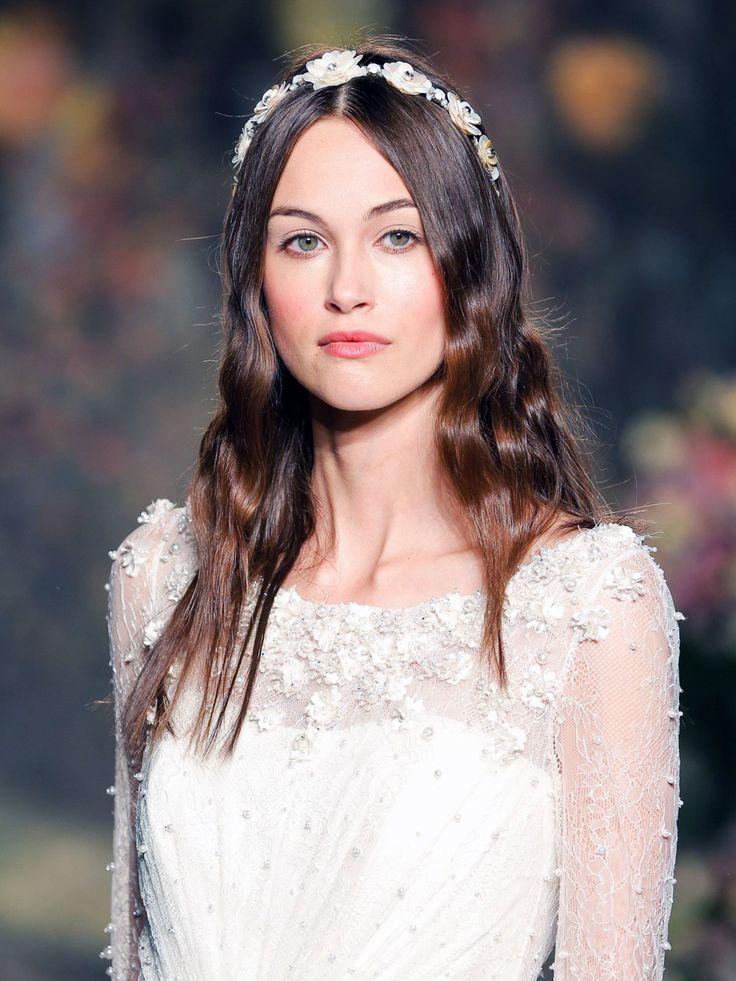 Braut haarschmuck offene haare  37 besten Wunderschöne Brautfrisuren Bilder auf Pinterest | Ideen ...