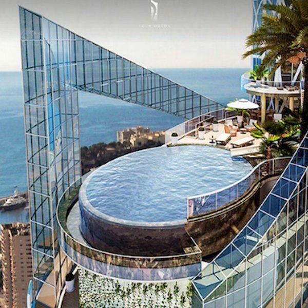 El Sky Penthouse en la Torre Oldeon, Mónaco es una de las casas más caras del mundo. Precio: 400 millones de dólares