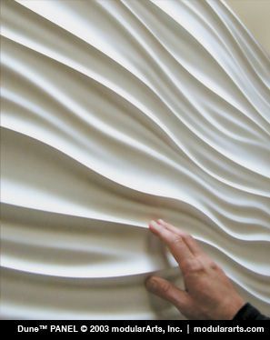 "modularArts® Dimensional Surfaces | Article | Clarifying ""3D Wall Panels"" and ""Wave Wall Textures"""