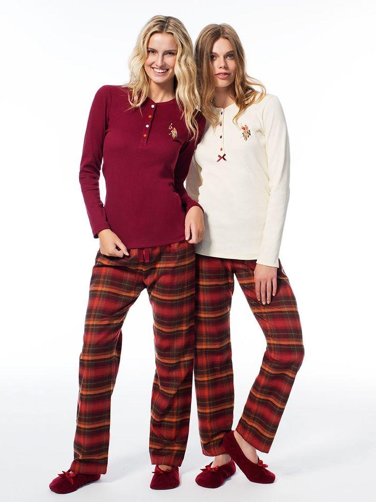 US Polo 15530 Bayan Pijama Takım   Mark-ha.com #markhacom #pijama #fashion #newseason #moda #trend #yenisezon #uspolo