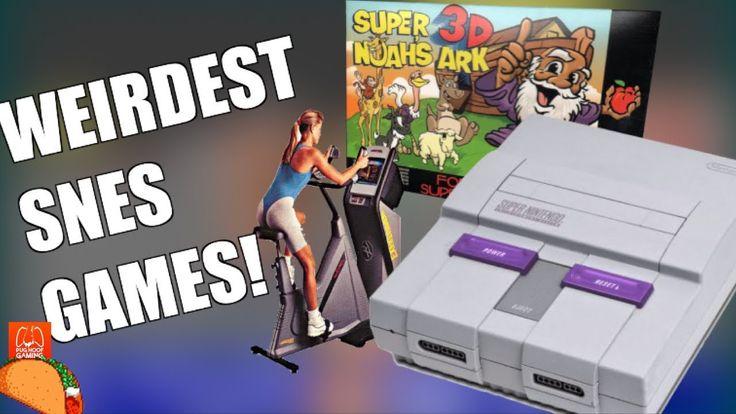 Top 3 Weirdest SNES Games! (Ft. Pug Hoof Gaming)