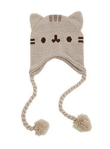 2a953bb8704 Pusheen Cat Face Ears Beanie - Pusheen the Cat Beanie Hat... https