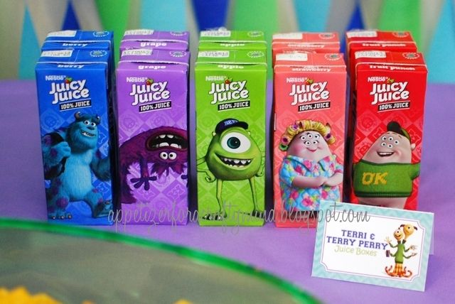 monsters university Birthday Party Ideas | Photo 2 of 18 | Catch My Party