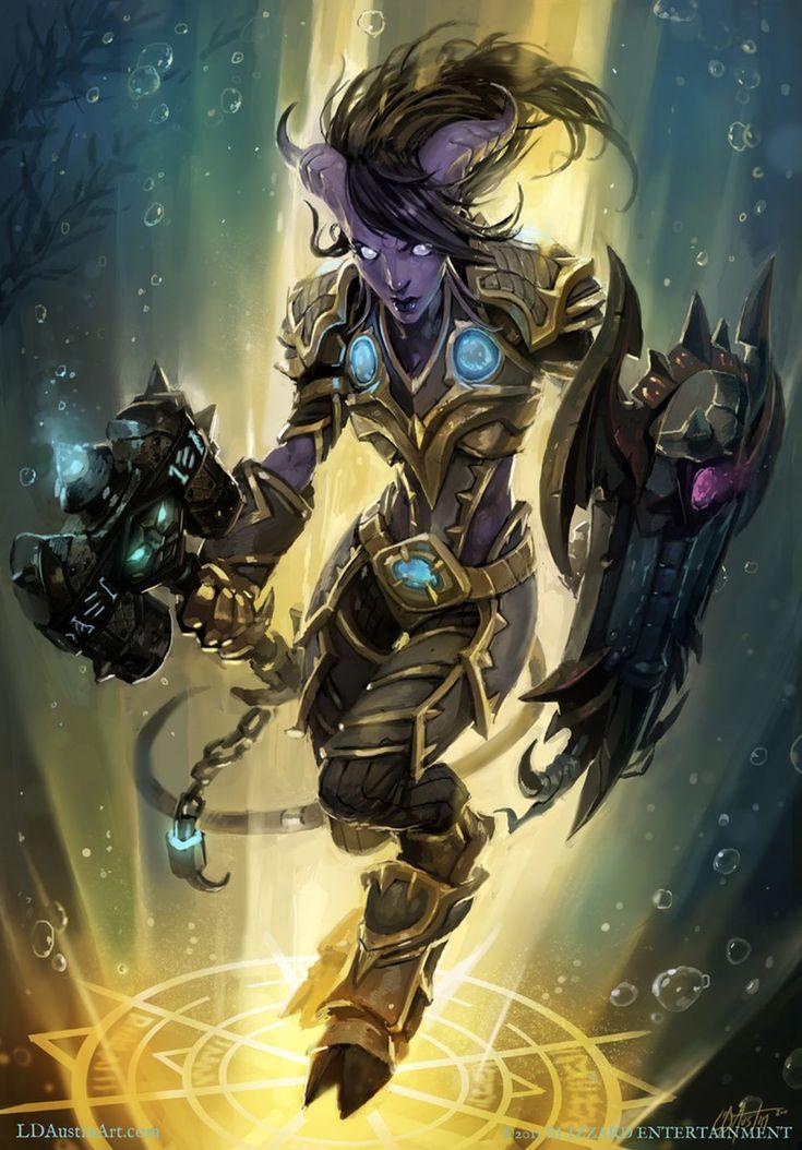 Anaka - Draenei Paladin - World of Warcraft |Laurel Austin