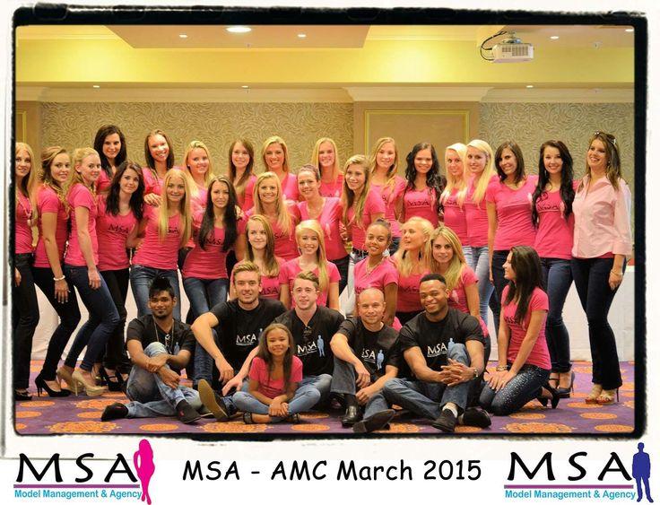 MSA's Annual Model Conference - Class 2015