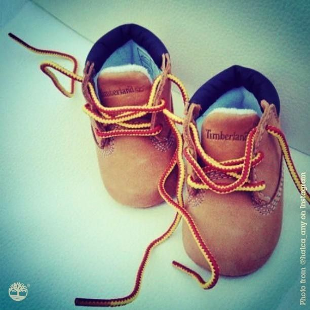 SO cute my kids will def have these- BabyTimberlands