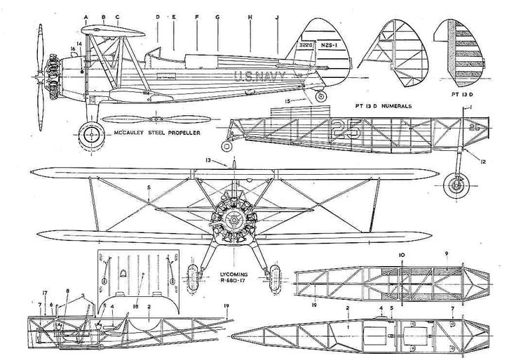 1000 Images About Aircraft 3 View Scale Drawings On