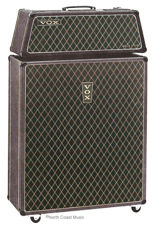 The VOX Showroom - The V117 Vox Sovereign Bass Amp