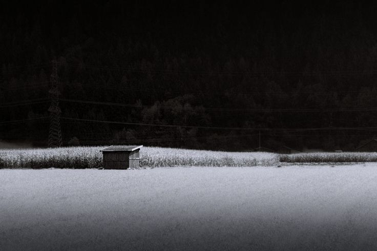 bwstock.photography  //  #barn #field
