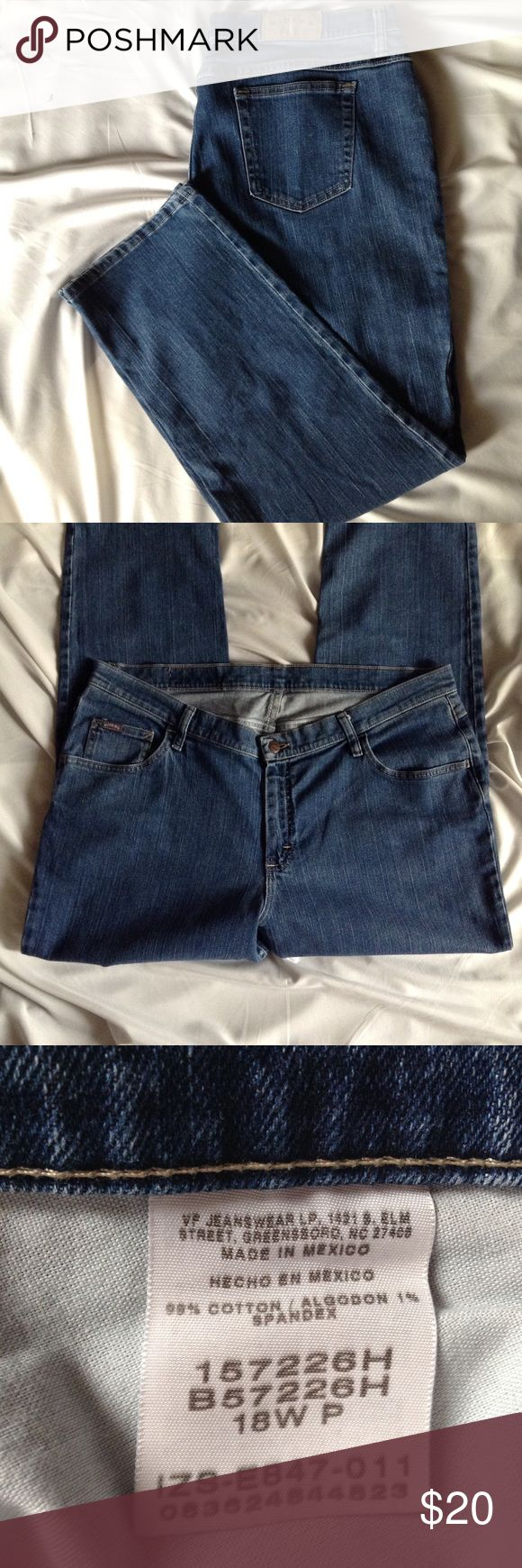 SALE Plus size (short) EASY RIDER JEANS Easy Rider 38 x 28 flawless Easy Rider Jeans Straight Leg
