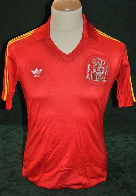 Spain 1982 World Cup Final shirt