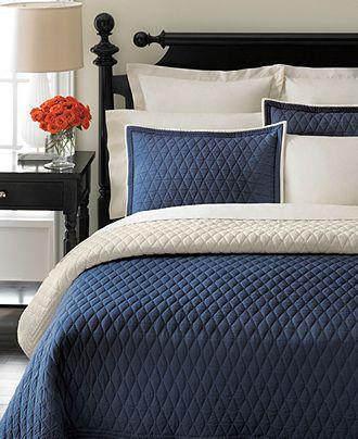 92 best House -Master BdRm images on Pinterest | Good night, DIY ... : solid navy quilt - Adamdwight.com