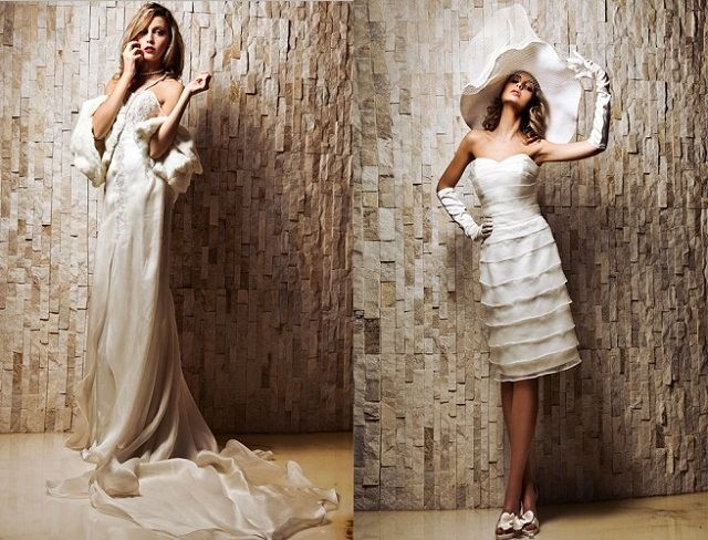 For the rebellious bride we've found Kika Sposa - a perfect place to find a wedding dress like no other: short, loose or inspired by the style of Marlene Dietrich .