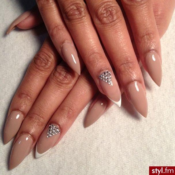 Elegant Stiletto Nail Art: Elegant Stiletto Nails☻