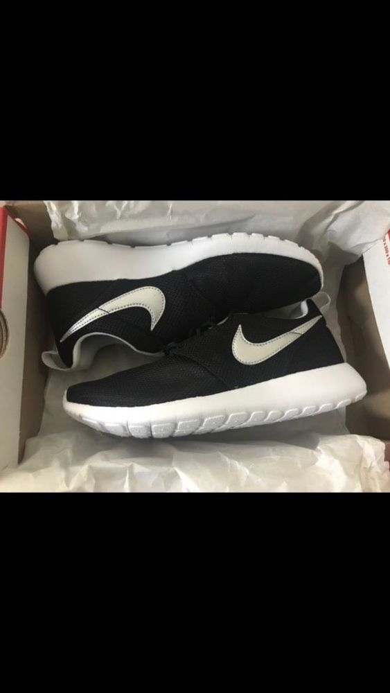new product f334a 74d77 Nike Roshe One GS Black White Rosherun Kids Youth Running Shoes 599728-021   fashion  clothing  shoes  accessories  womensshoes  athleticshoes (ebay  link)