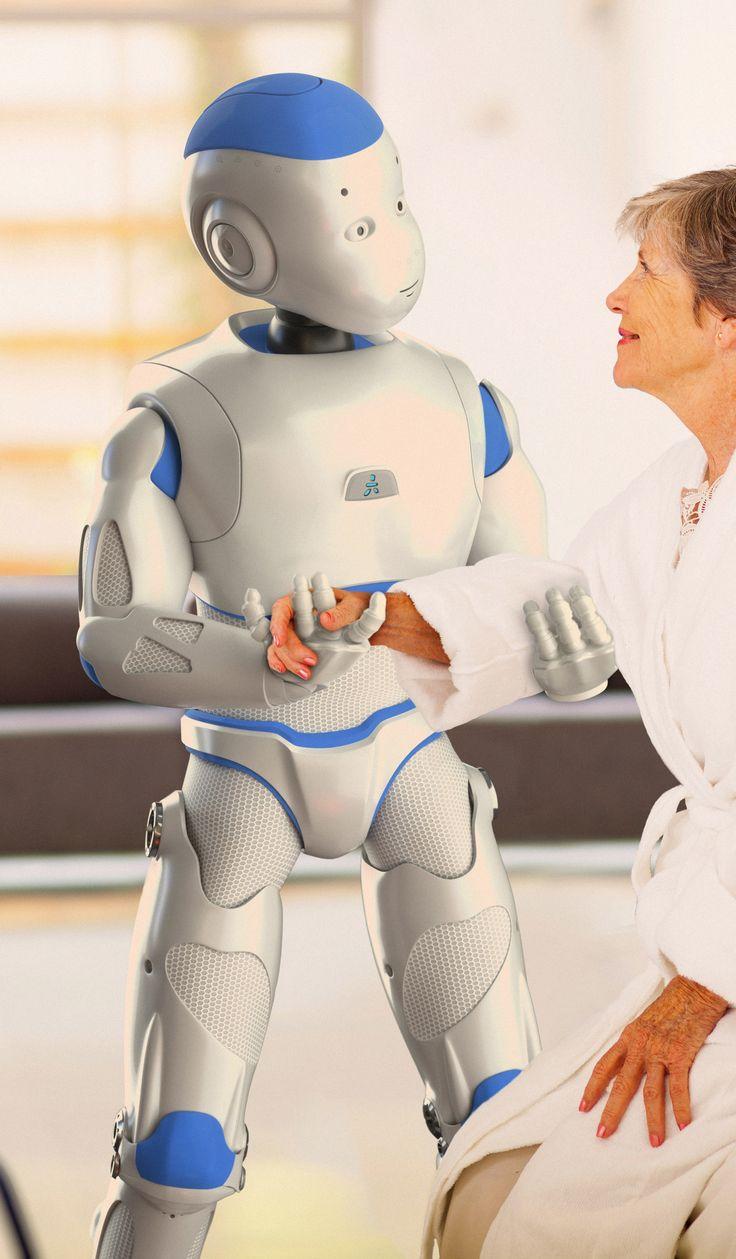 Roméo, robot auxiliaire de vie.