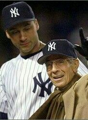 PHIL RIZZUTO AND DEREK JETER
