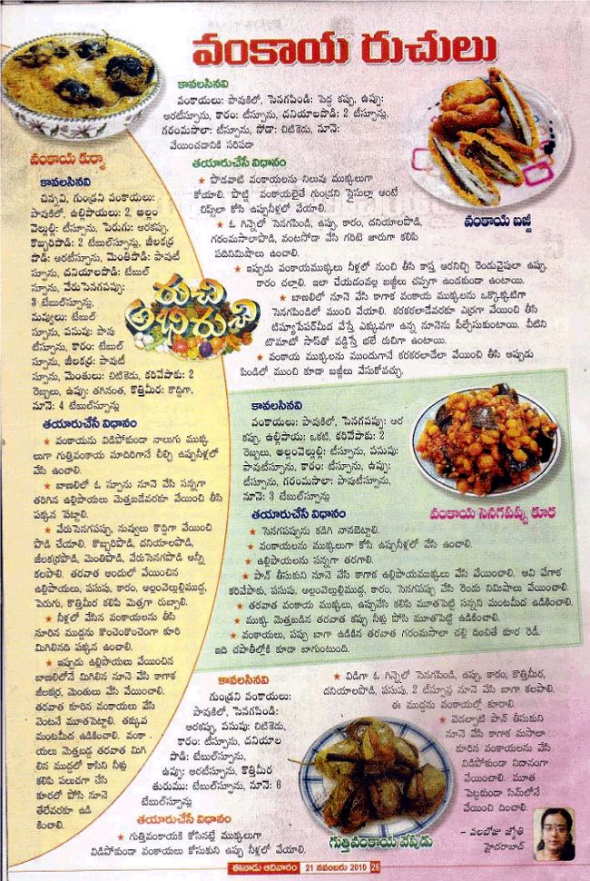 108 best yummy recipes images on pinterest indian recipes telugu vantalu telugu recipes vantakalu vankaya kurma vankaya bajji gutti vankaya ccuart Choice Image