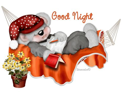 Just Want To Say... good night