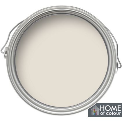 Home of Colour Kitchen and Bathroom Putty - Soft Sheen Emulsion Paint - 2.5L