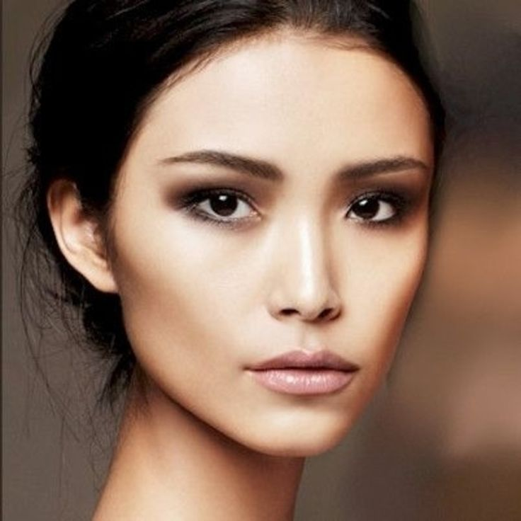 12. #Contour with Foundation - 16 #Gorgeous Asian #Makeup #Tricks to Try ... →…