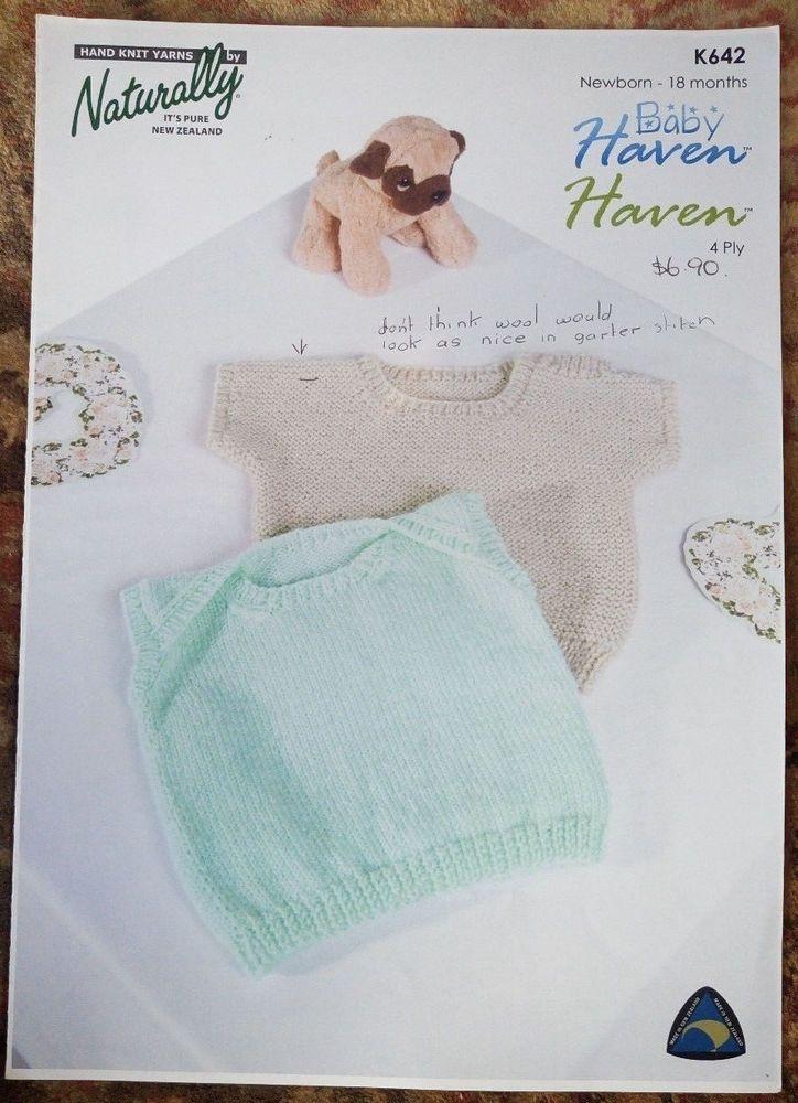 4d973cc7c Baby Singlet Vest Top Naturally   K642 knitting pattern 4 ply yarn ...