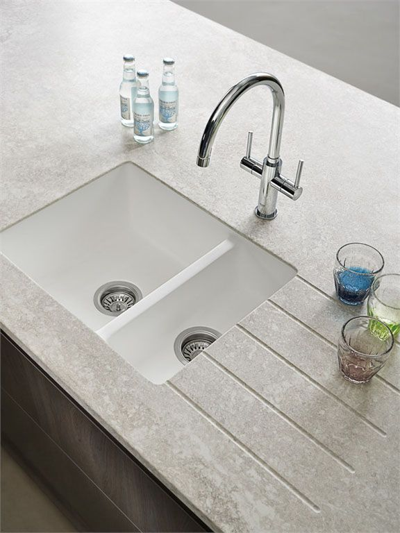 Bushboard - does marble-effect acrylic islands, splash backs, and stone