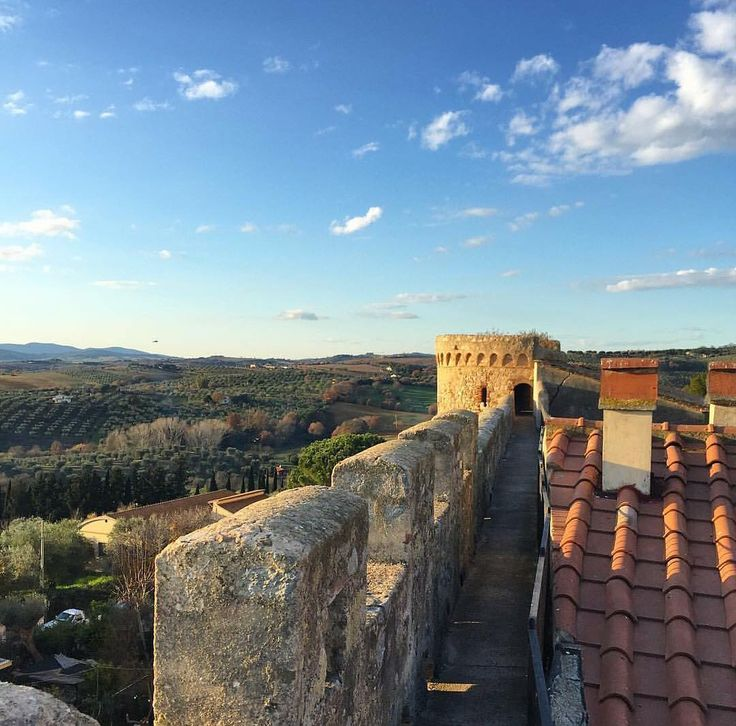 Panorama from the ancient walls of Magliano in Toscana by @martinaalemani