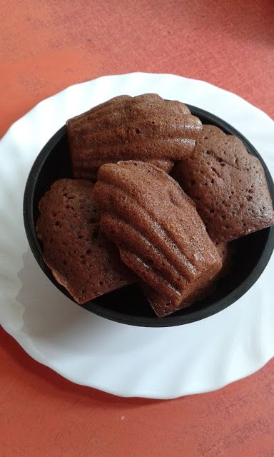 Kakaós madeleine